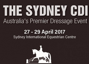 The Sydney CDI – Where the Stars Gather Sydney International Equestrian Centre, Horsley Park 27-29 April 2017