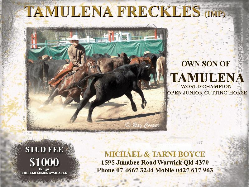Tamulena Freckles