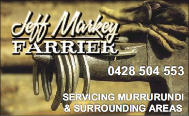 Jeff Markey Farrier