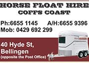 Horse  Float  Hire